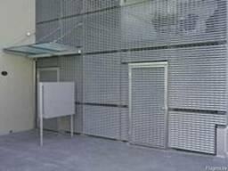Решетки для фасадов, фасад из решетчатого настила