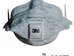Респиратор 3М VFlex 9162V, класс защиты FFP2, с клапаном выдоха