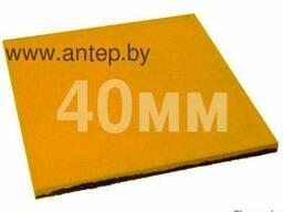 Резиновая плитка 500х500. Толщина 40мм.