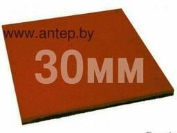 Резиновая плитка 500х500х30