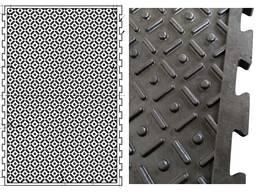 Резиновые напольные покрытия для производственных помещений