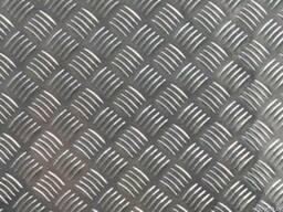 Рифленый алюминий 1.5, 2, 2.5, 3. Резка в размер