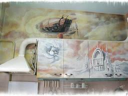 Рисунки на мебели - фото 3