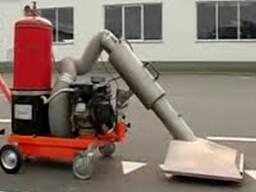 Road surface heating machine STiM Sukhovey
