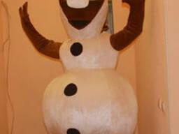 Ростовой костюм снеговика Олафа на Ваш праздник.