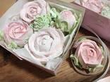 Розы из зефира - фото 3