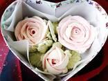 Розы из зефира - фото 4