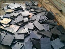 Рубка листового металла толщина до 20 мм.