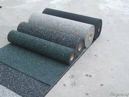 Рулонные резиновый покрытия