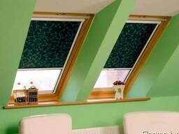 Рулонные шторы в коробе (УНИ)