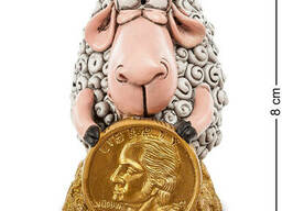 RV-361 Фигурка Овца Монета на Удачу мал. W. Stratford