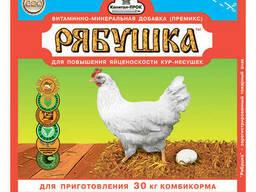 """""""Рябушка"""" Премикс для кур на 30кг корма (150г)"""