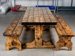 Садовая мебель из массива дерева