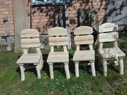 Садовый стол с табуретками на заказ