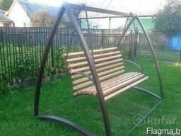 Садовые качели , скамейки, беседки