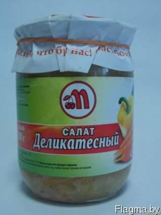 """Салат """"Деликатесный"""" 0,5 л"""