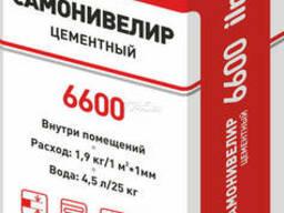 Самоневелир цементный Ilmax 6600, мешок 25 кг