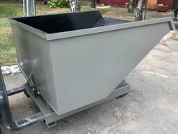 Контейнер для отходов деревообработки / перевозки сыпучих грузов