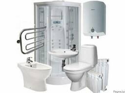 Сантехника, водоснабжение, отопление, канализация