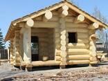 Срубы домов из дерева под рубанок - фото 4