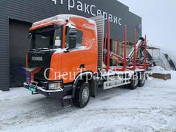 Scania R500 манипулятор Tajfun-Liv 120К96