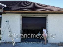 Секционные гаражные ворота Алютех в Любани - фото 2