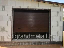 Секционные гаражные ворота Алютех в Любани - фото 4