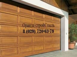 Секционные гаражные ворота Hormann, подъемно-поворотные