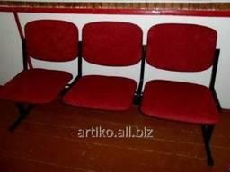 Секция полумягких сидений для актовых залов