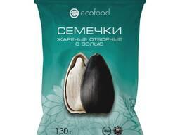 """Семечки жареные с солью """"Ecofood"""" от производителя"""