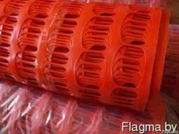 Сетка пластиковая Аварийная 70х40мм 1,8х25м 200г/м2 оранж. =