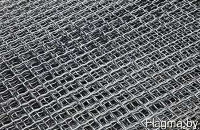 Сетка рифленая металлическая ГОСТ 3306-88