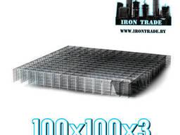 Сетка сварная арматурная кладочная 100х100х3 Вр-1