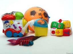 Сетка для упаковки детских игрушек