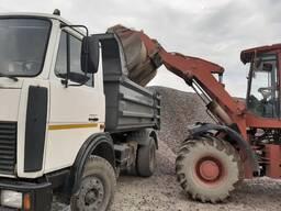 Щебень с доставкой от 5 тонн в Витебске. 10 тонн, 20 тонн