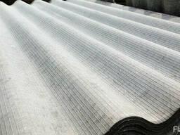 Шифер серый восьмиволновой 1750X1130X5.2 мм