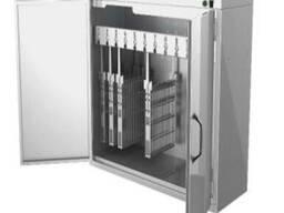 Шкаф для хранения и дезинфекции держателей ножей и мусатов