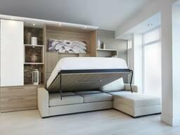 Шкаф-кровать с диваном!
