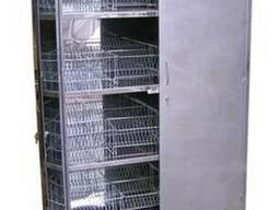 Шкаф кухонный (для посуды, для хлеба) из нержавеющей стали