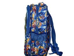 Школьный рюкзак для мальчика 1719 принт 4