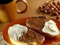 """Шоколадная кондитерская начинка """"Люкс"""", со вкусом фундук."""