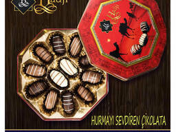 Шоколадные Финики с миндалем