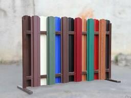 Штакетник металлический для ворот и забора