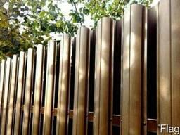 Штакетник металлический для забора и ворот