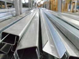 Швеллер стальной гнутый ГОСТ 8278-83 ст3сп 200х100х6