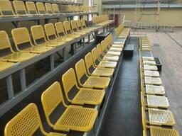 Сиденье металлическое для стадионов