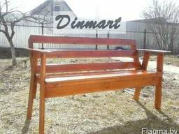Скамейка деревянная (из любых пород дерева). Min цена