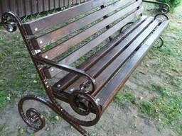 Скамейка садовая «Джек» 2 метра