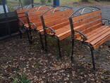 Скамейки садово-парковые - фото 5