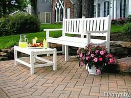 Скамейки садовые, столы, лавочки из массива сосны.